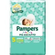 8 x Pampers Baby Dry Downcount Junior Talla 5 11 - 25 kg 17 unidades