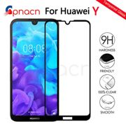 999D Protective Glass on the For Huawei Y5 Y6 Y7 Y9 Prime 2018 2019 Y5 Lite Tempered Screen Protector Glass Protection Film Case
