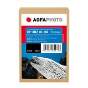 Agfa Photo Cartucho de tinta negro Original APHP302XLB