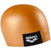 Arena Logo Moulded Swimming Cap One Size Pinkish Orange