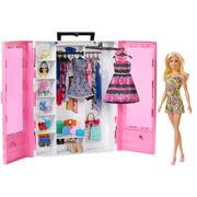 Barbie Fashionistas Ultimate Closet Doll And Accesory 3 Years Multicolour