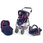 Bayer Chic 2000 Cochecito convertible 3 in 1 EMOTION ALL IN, stars marine
