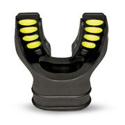 Best Divers Comfort Cushion Mouthpiece Black silicone Lime