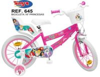 BICICLETA DISNEY PRINCESS 16""