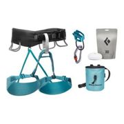 Black Diamond Momentum Harness Package Aqua Verde S