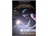 Box Set Michael Schenker's Temple Of Rock - On A Mission - Live In Madrid