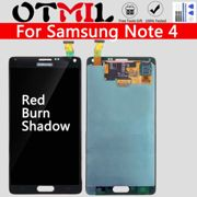 """Burn Shadow 5.7"""" For Samsung Galaxy Note 4 Alpha N910A N910T LCD Touch Screen Digitizer Assembly For Samsung Note4 Display"""