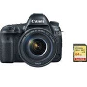 CANON EOS 5D IV KIT EF 24-105MM F4L IS II USM + 64GB tarjeta SD