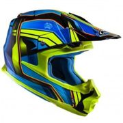 HJC FX-Cross Piston Casco MX Azul/Amarillo XS (53/54)