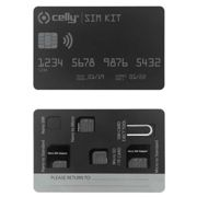 Celly Sim Kit Adapter One Size Clear