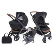 Chicco trio stylego up i-size pure black - chicco