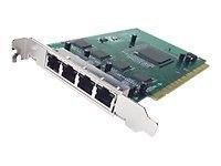 Cisco - PIX-4FE-66 - PIX 66-MHz four-port 10/100 Fast Ethernet int. card, RJ45