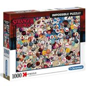 Clementoni Stranger Things Badge Impossible Puzzle 1000 Pieces One Size Multicolor