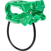 Climbing Bloqueador seguridad be-up / belay device - green - anodized