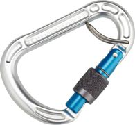 Climbing Technology Concept SGL Mosquetón, polished/blue 2020 Mosquetones