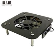 Cooling Fan Heat Dissipation Base Mod Frame For Mac Mini Radiator Overclock With12cm 14cm PCCOOLER Silent Fan Acrylic Chassis
