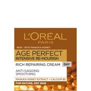 Crema de día de miel de manuka Age Perfect Intensive Renourish de L'Oréal Paris 50 ml
