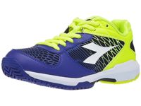 Diadora Speed Competition Yellow/Blue Junior Shoes
