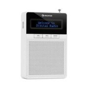 DigiPlug DAB Radio DAB+ FM/AM Bluetooth Display LCD Blanco