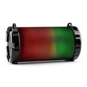 Dr. Beat LED Altavoz Bluetooth 2.1, batería, LED multicolor, USB, SD, MP3 y radio FM