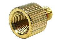 """Eheim 1046 outlet adaptor to G1/4"""" knurled gold plated"""