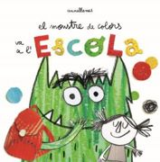 Libro Monstre de Colors va a l'Escola