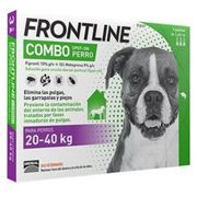 Frontline Combo canine (20-40 Kg) 3 Pipetas