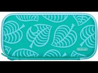 Funda - Nintendo (Ed. Animal Crossing: New Horizons), Para Nintendo Switch Lite, Protector de pantalla, Verde