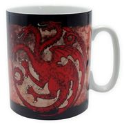 GAME OF THRONES - Taza - 460 ml - Targaryen - porcl. with box
