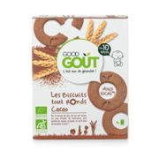Good Gout Les Biscuits Tout Ronds Cacao 80g