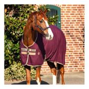 Horseware AMIGO STABLE SHEET - Manta de cuadra fig/navy&t