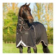 Horseware RAMBO OPTIMO TURNOUT - Manta impermeable 0g black oran