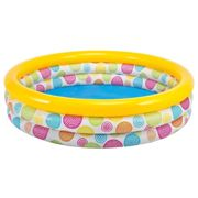 Piscinas Intex 3 Rings Pool 481 litros Multi Colour