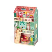 Janod Happy Day Doll´s House 3-8 Years Multicolor