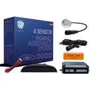 KIT SENSORES PARKING CABLE(PDC) 4X 21.5MM - PLATA CON DISPLAY