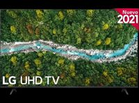 "LG ELECTRONICS - TV LED 43"" - LG 43UP77006LB.AEU, UHD 4K, QuadCore, webOS 6.0, Smart TV, Asistentes de voz, AI Sound, Negro"