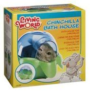 Baño, bañera para Chinchillas Living World