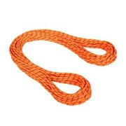 Mammut ALPIN SENDER DRY - Cuerda polivalente 8,7mm safety orange/black
