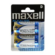 Maxell pila alcalina d pack 2uds