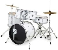 Millenium Focus 18 Drum Set White