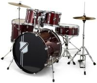 Millenium Focus 20 Drum Set Red