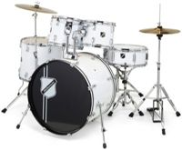 Millenium Focus 22 Drum Set White