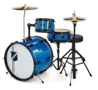 Millenium Youngster Drum Set Bundle Blue