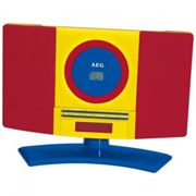 MiniCadena AEG CD-MP3 MC 4464, Usb, Kids Line
