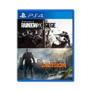 Pack Rainbow Six Siege + The Division PS4