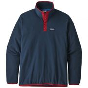 Patagonia M's Micro D Snap-T P/O New Navy w/Classic Red L