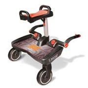 Patinete BUGGY BOARD MAXI Negro + Asiento Rojo LASCAL