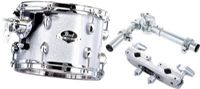 "Pearl Export Tom Add-On Pack 8""x7"", Arctic Sparkle #700"