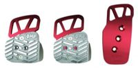 Pedales New 3 Pedal Set (With Standard Accelerator Pedal) in Anodized