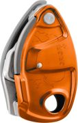 Petzl Grigri+ Dispositivo de seguridad, orange 2020 Aseguradores & Descensores